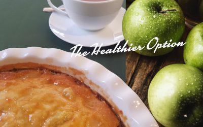 Belinzona Healthier Apple Tart