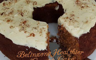 Belinzona Healthier Carrot Cake